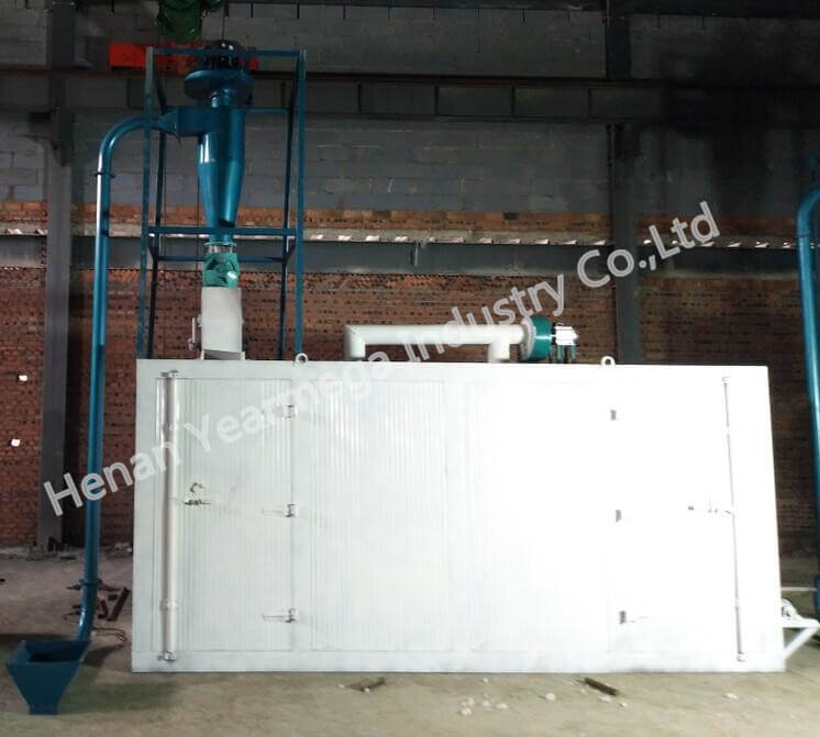 air conveyor and feed dryer
