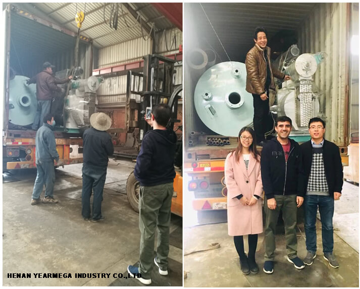 Poultry Feed Production Line 2-3T/H exported to Afghanistan, they