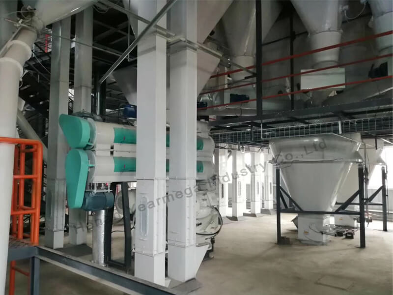 Animal Feed Production Line - HENAN YEARMEGA INDUSTRY CO